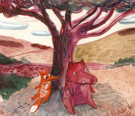 Fox and Boar